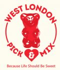 West London Pick & Mix Sweets Shop | Logo