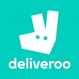 Listed on deliveroo